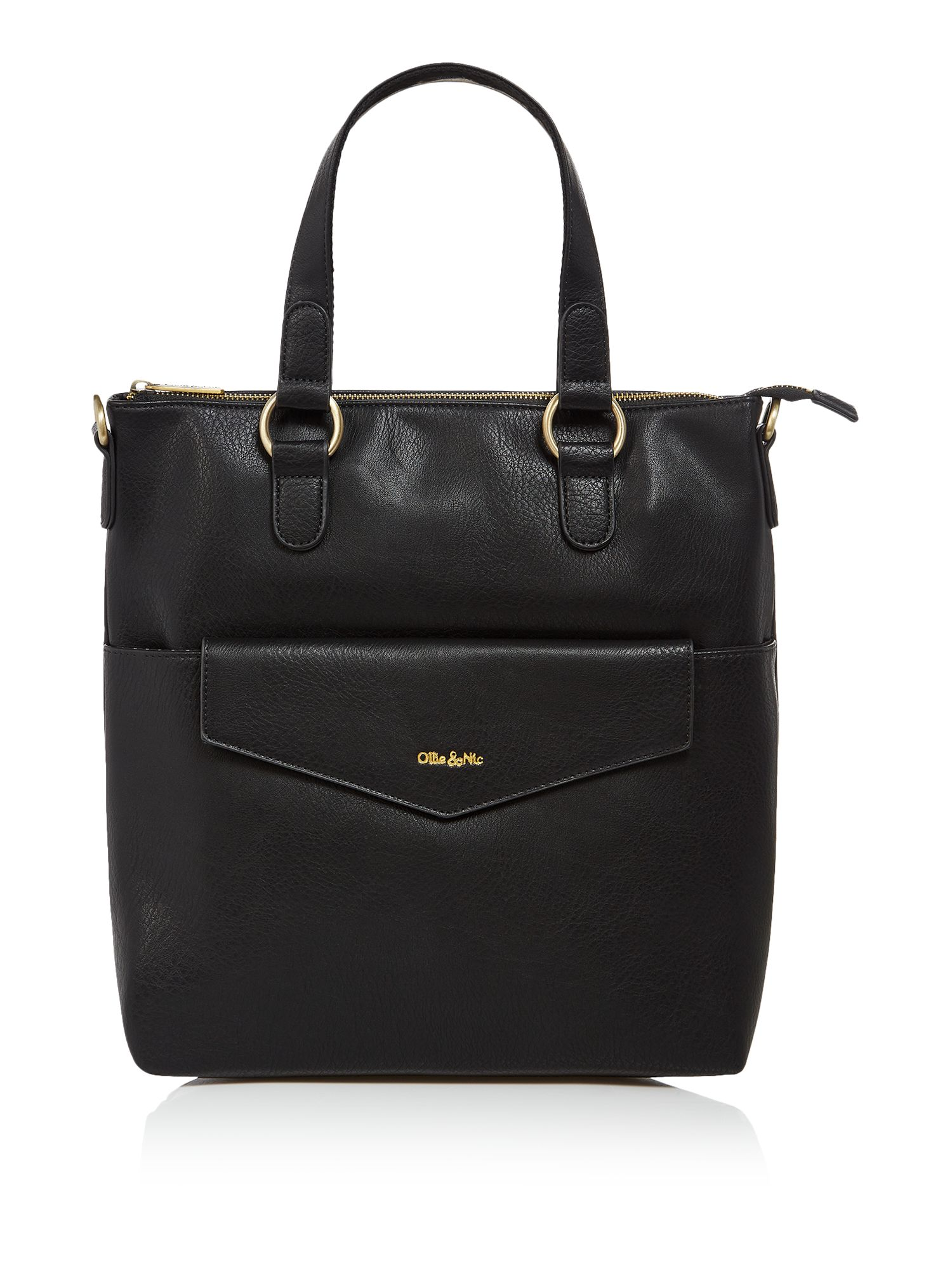 Ollie & Nic Eddy tote bag, Black