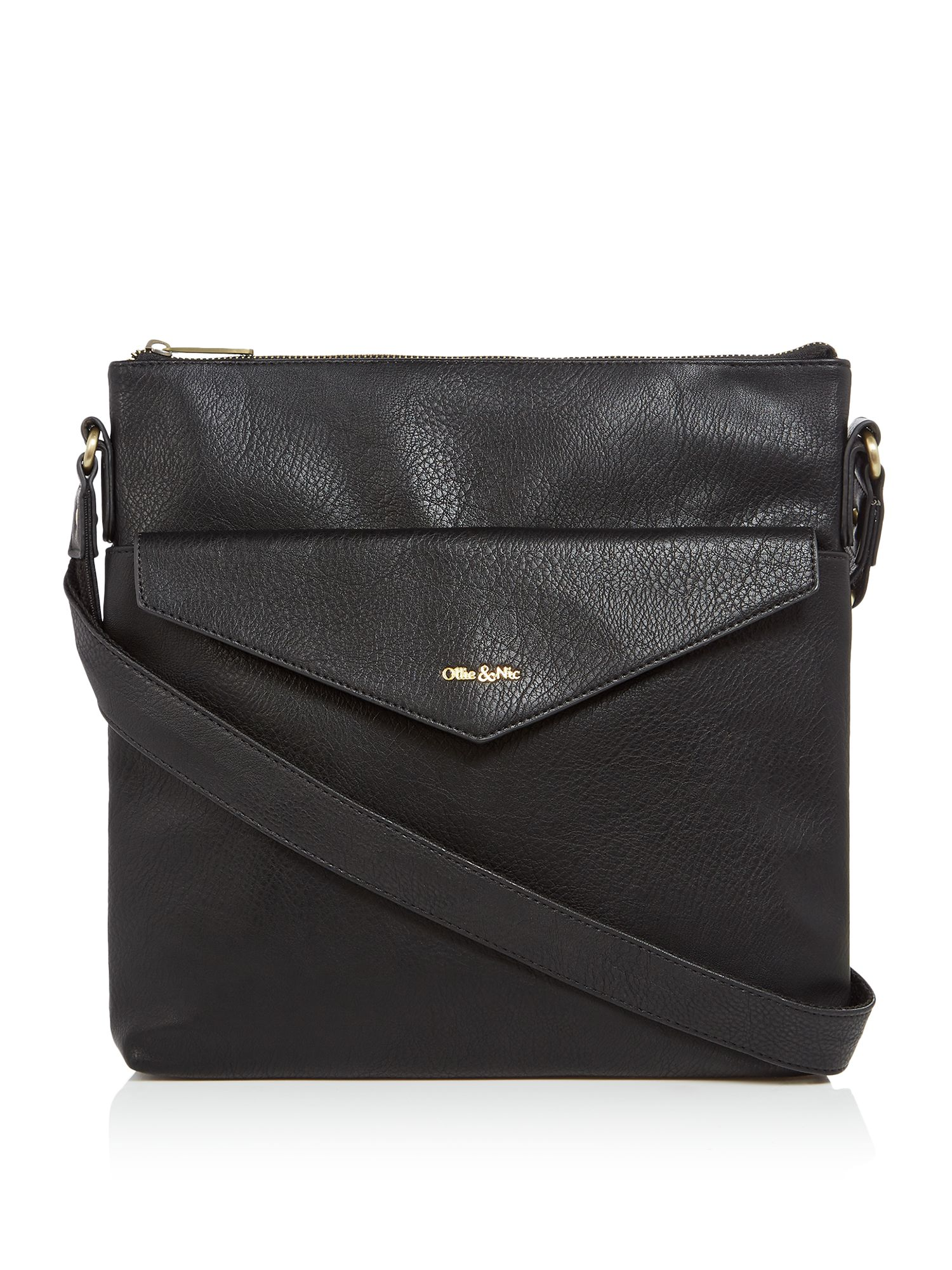 Ollie & Nic Eddy Large Crossbody, Black