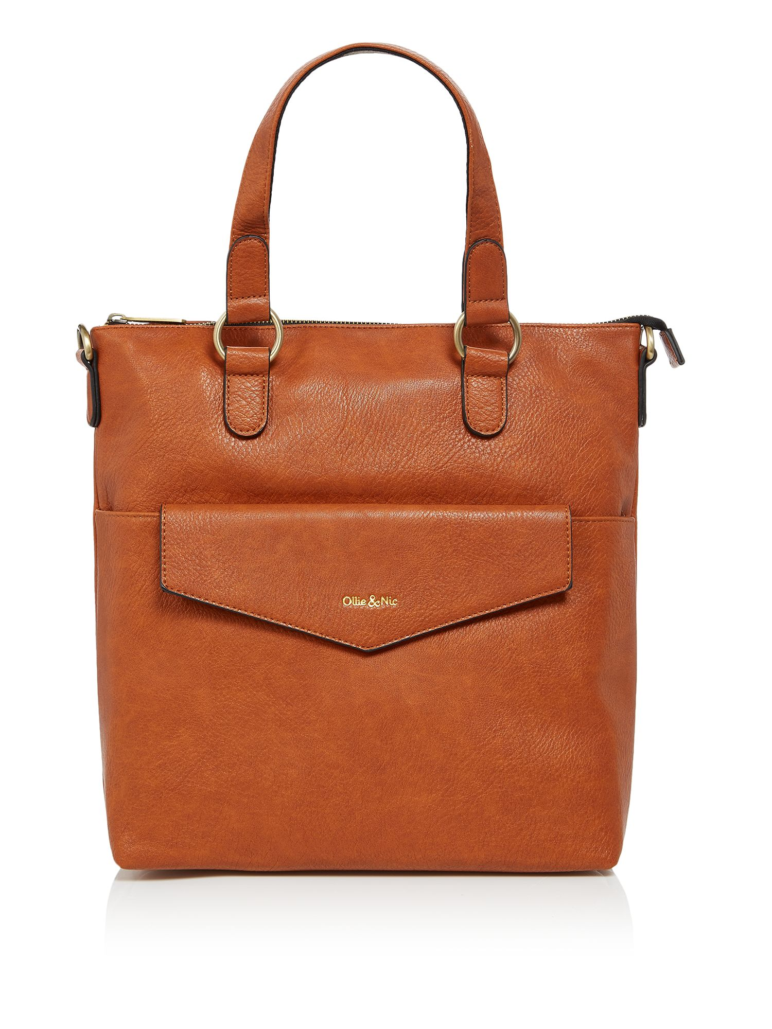 Ollie & Nic Eddy tote bag, Tan