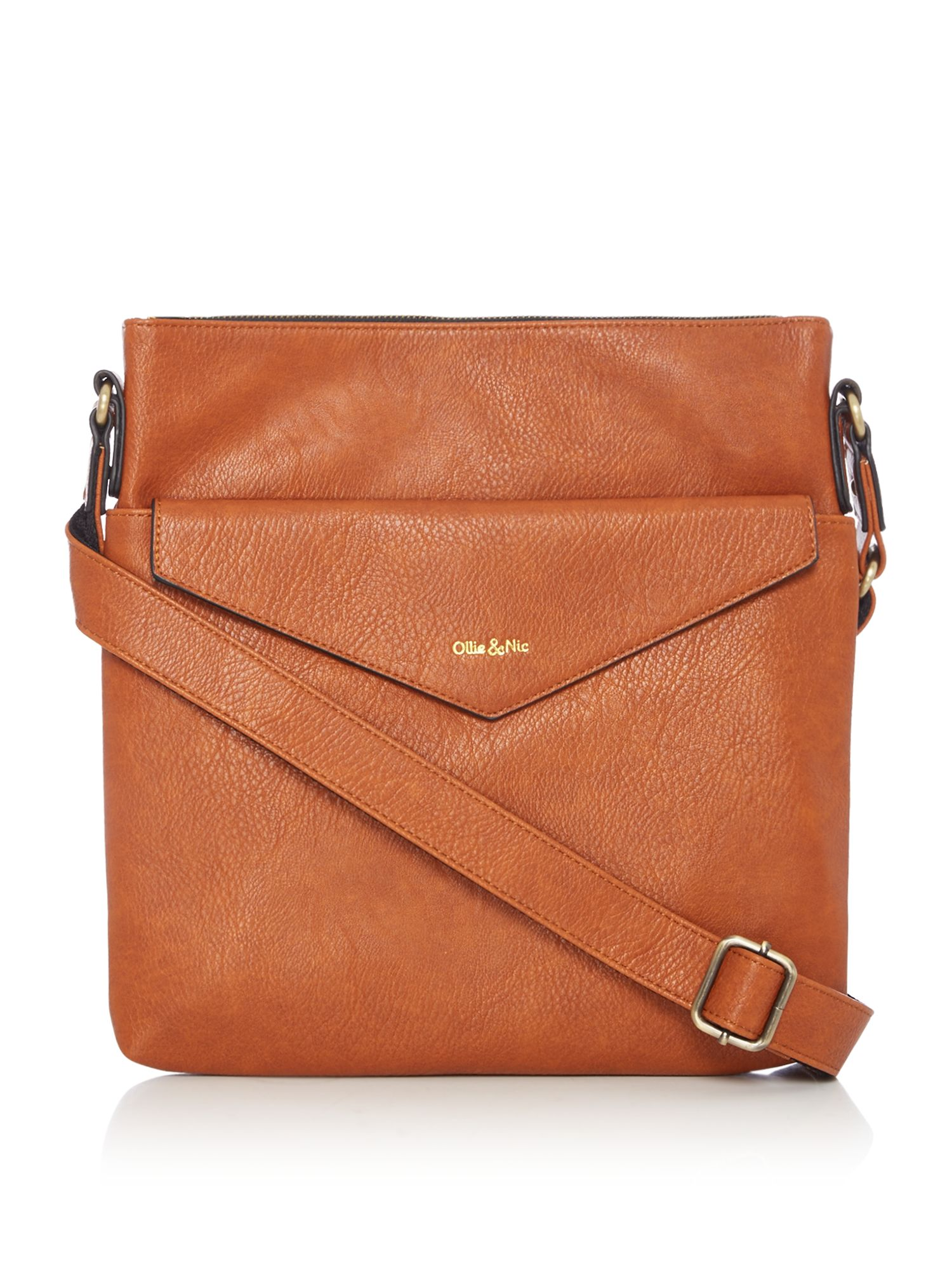 Ollie & Nic Eddy Large Crossbody, Tan