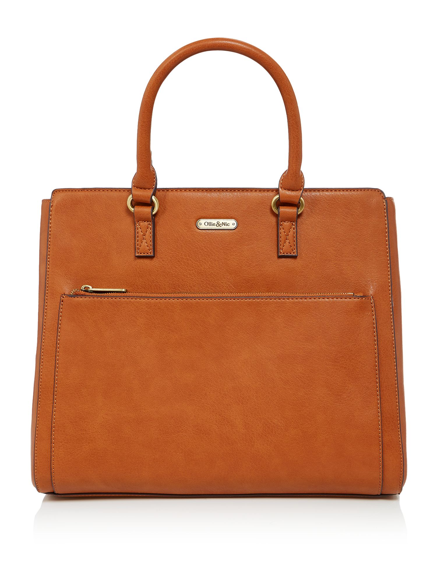 Ollie & Nic Patsy Work Tote, Tan