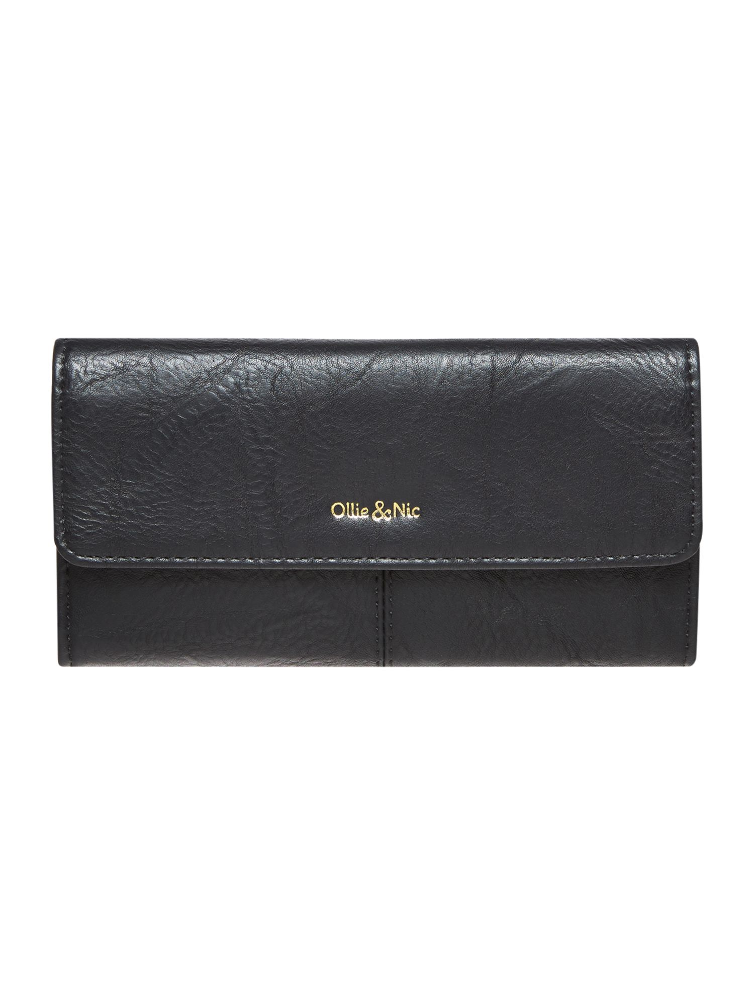 Ollie & Nic Margo flapover purse, Black
