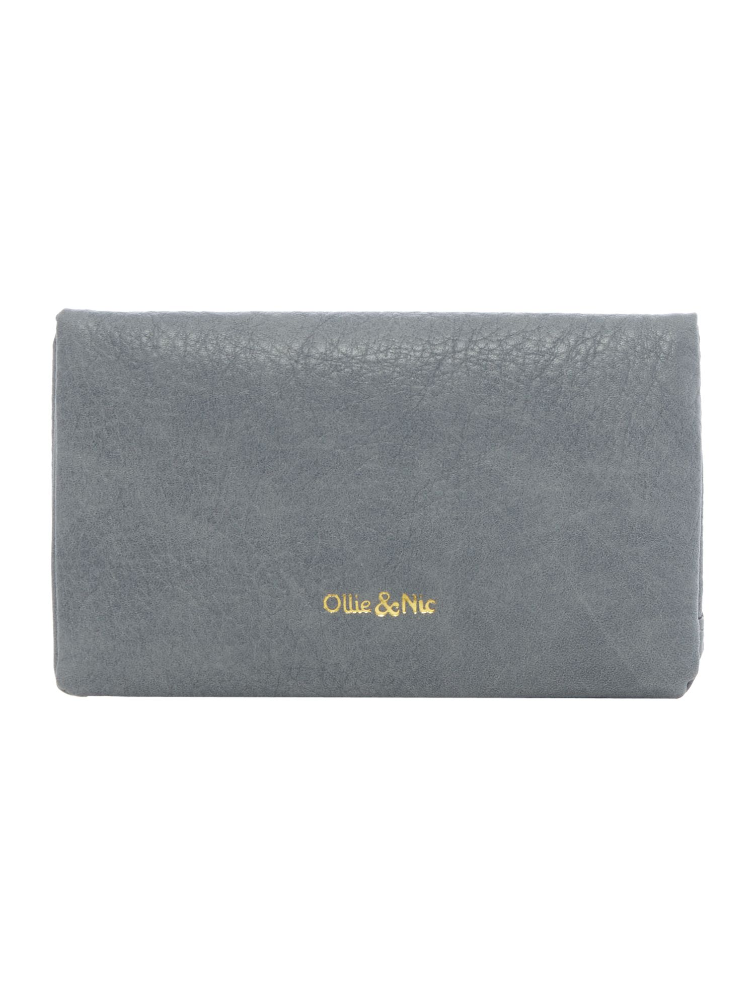 Ollie & Nic Rosa small ziparound purse, Grey
