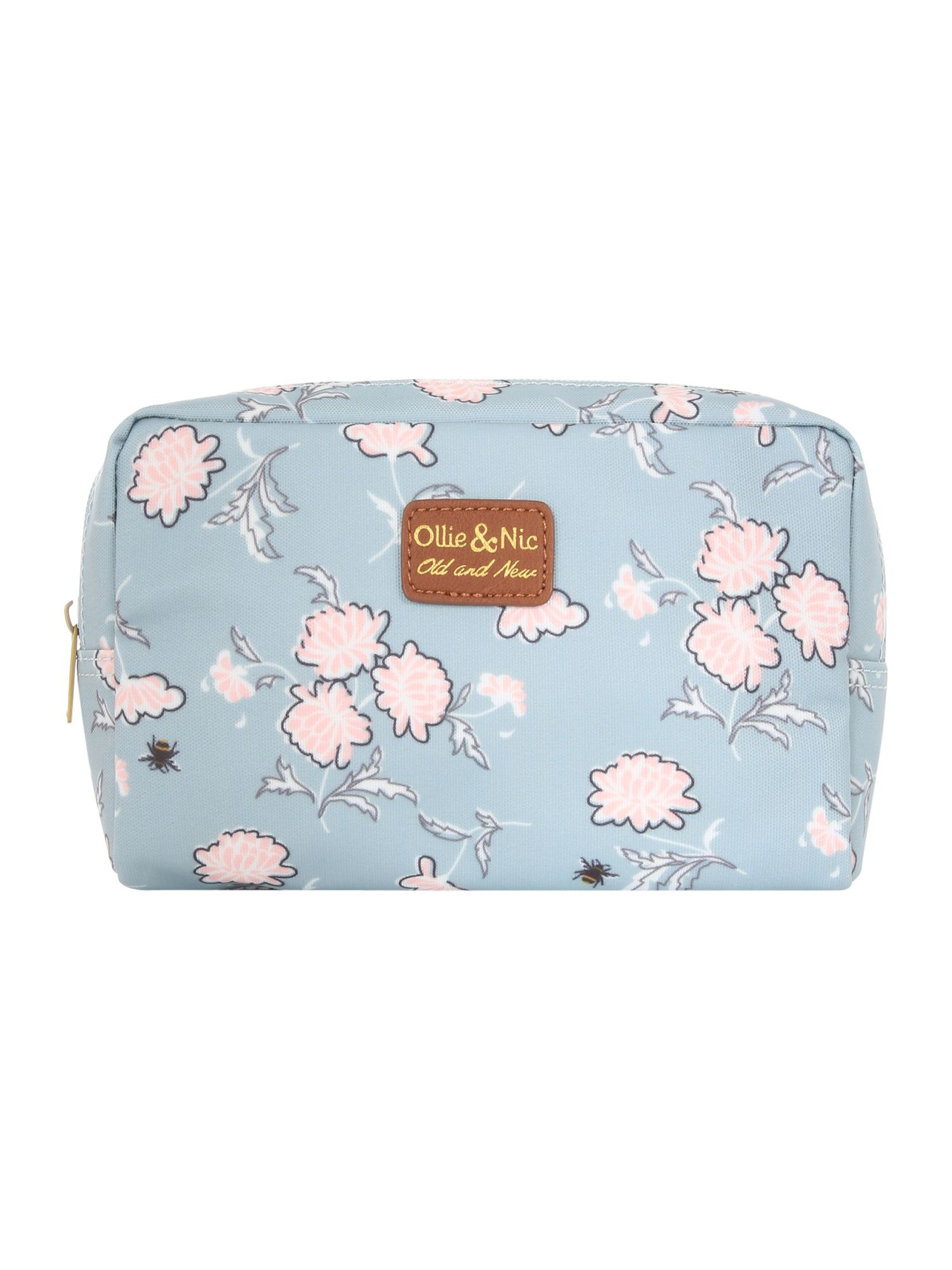 Ollie & Nic Bea make up bag, Light Blue