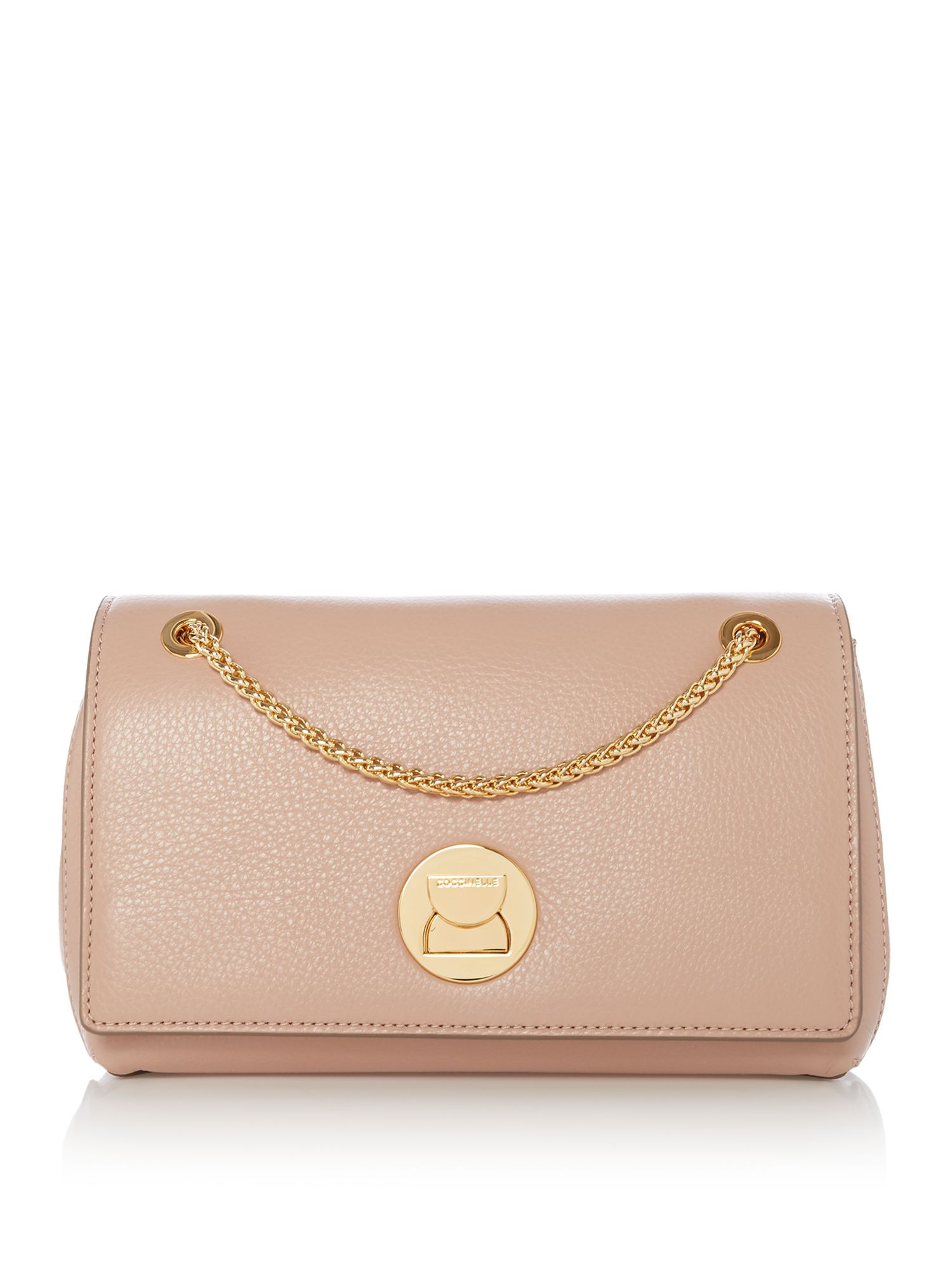 Coccinelle Liya small chain cross body bag, Pink