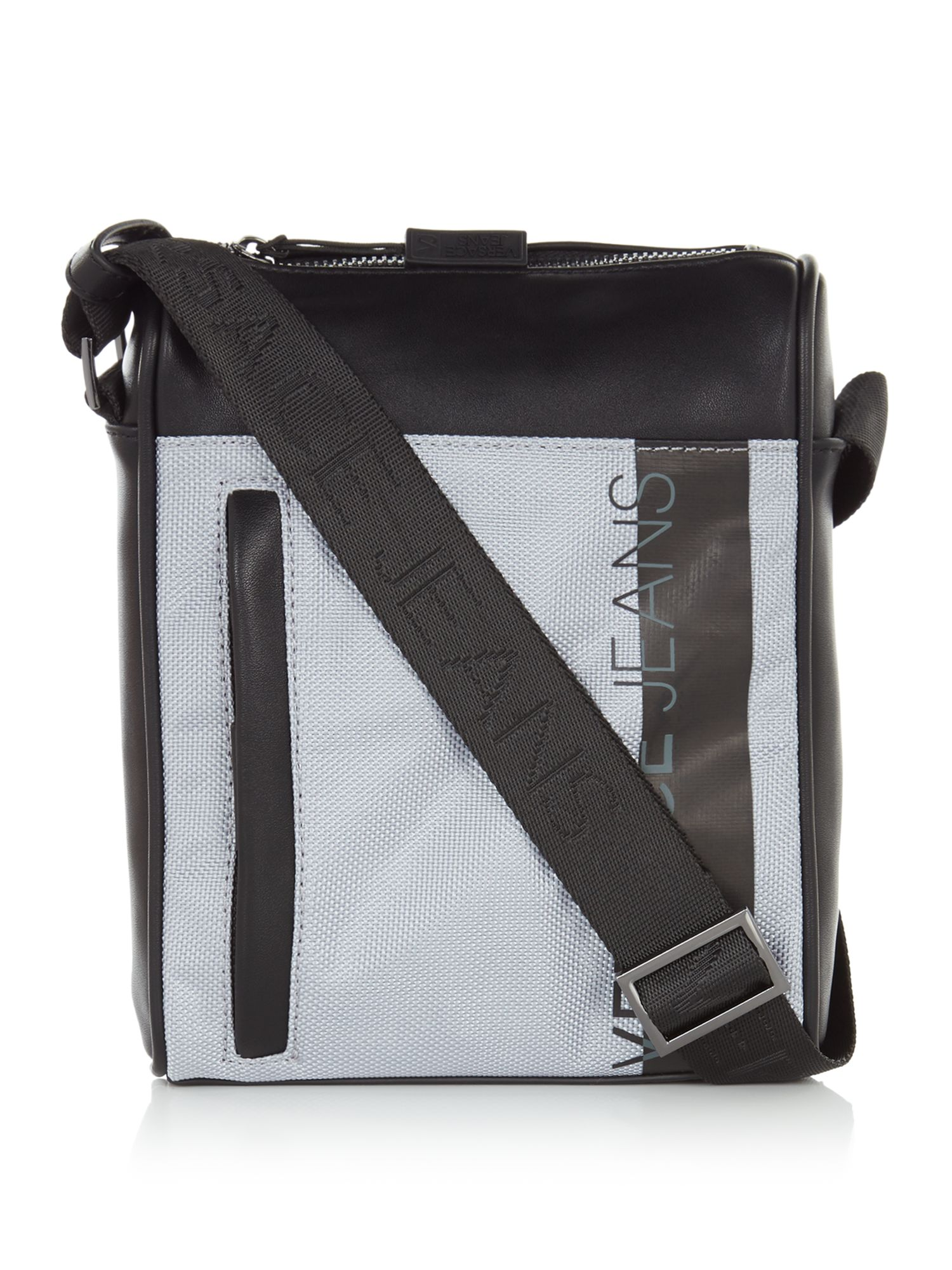 Versace Versace Jeans Cross Body Bag, Grey