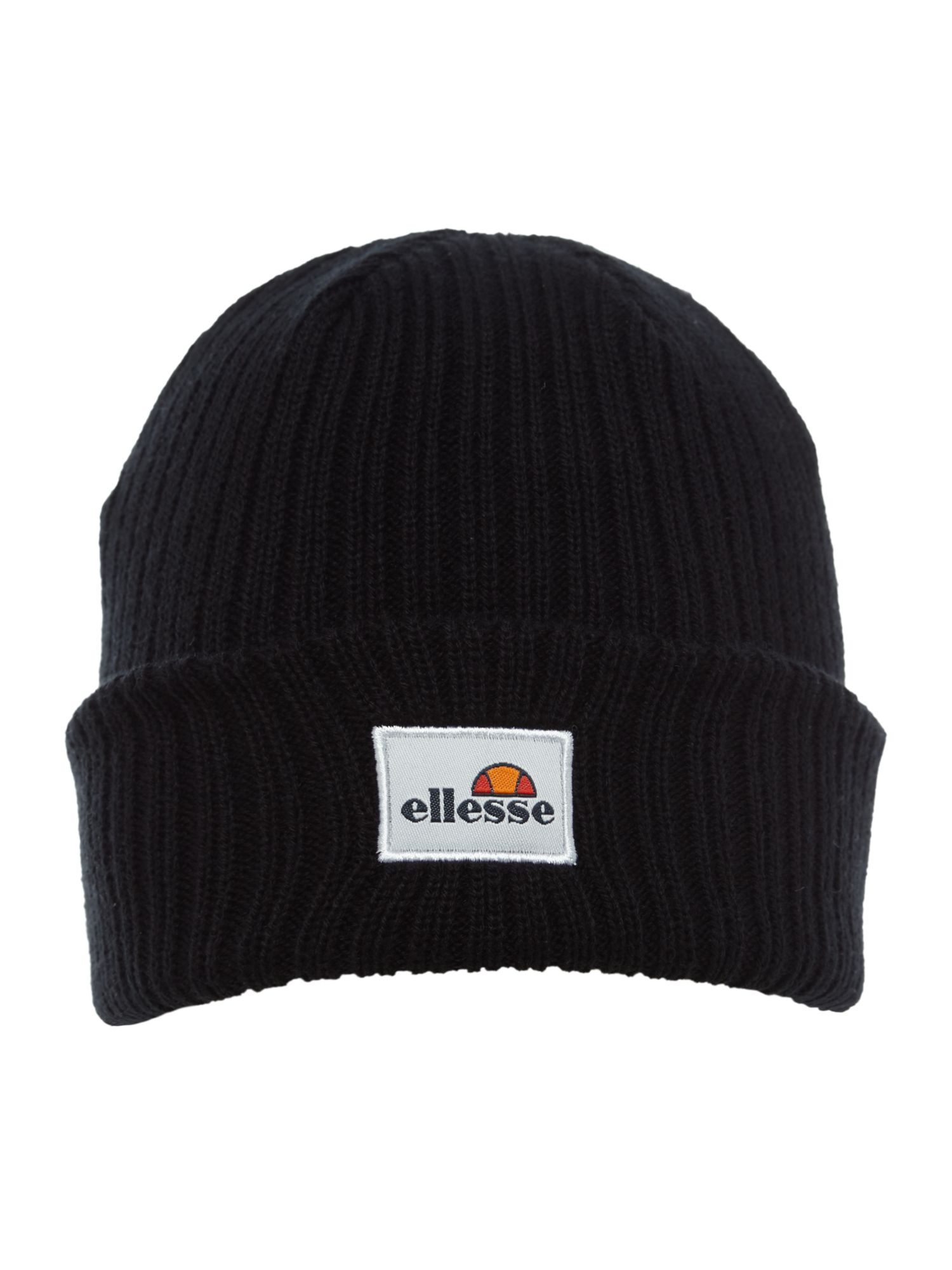 Ellesse Wicker logo beanie, Black