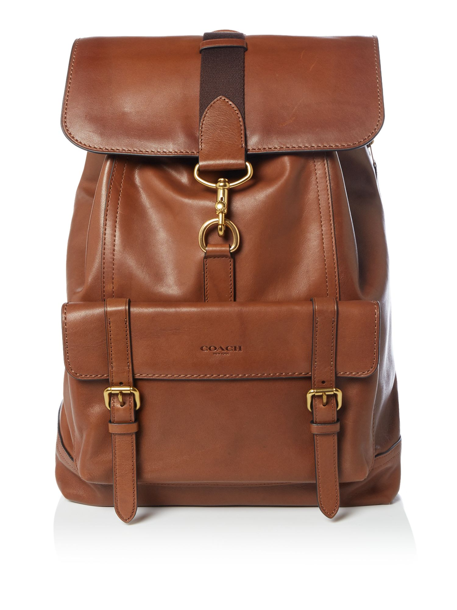 Coach Bleecker Backpack, Brown