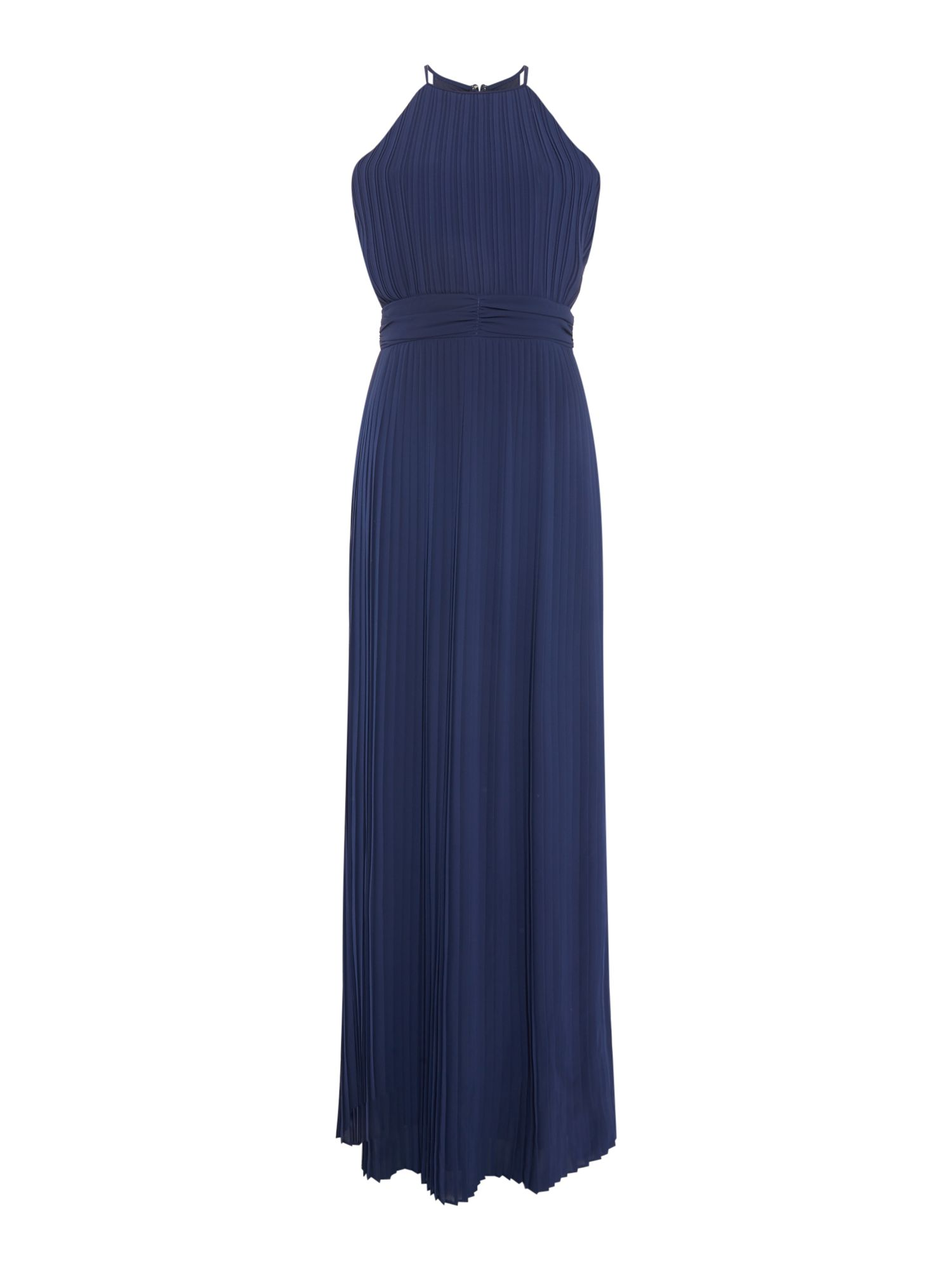 tfnc Halter neck maxi dress, Blue