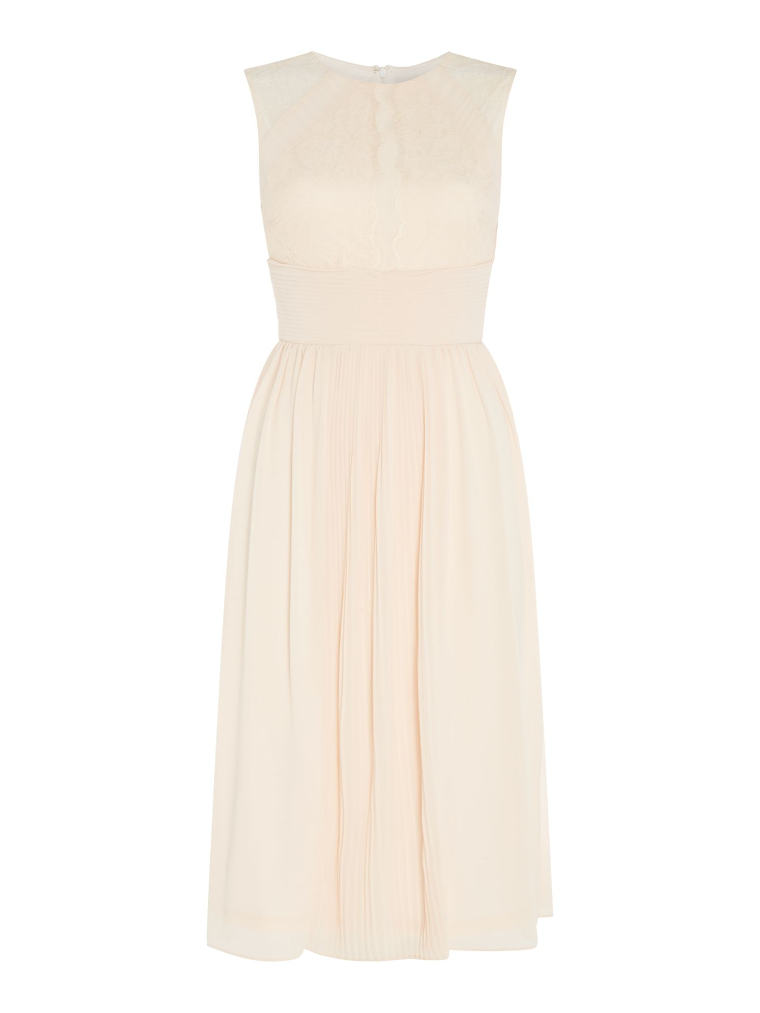 tfnc High neck gown, Nude