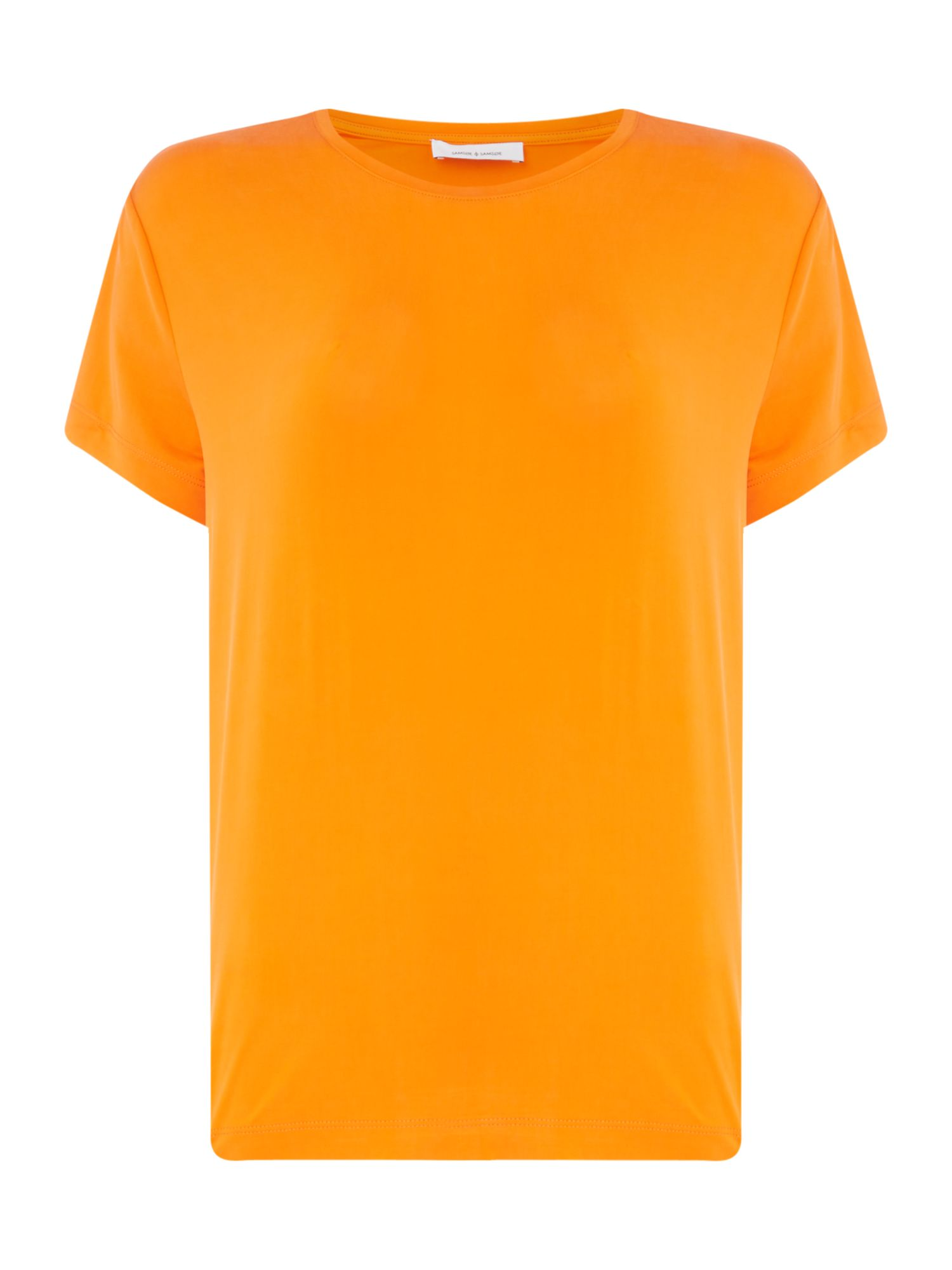 Samsoe and Samsoe Siff Tee, Orange