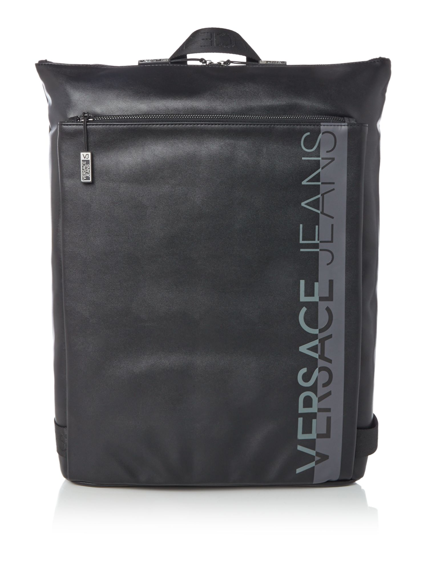 Versace Versace Jeans Backpack, Black