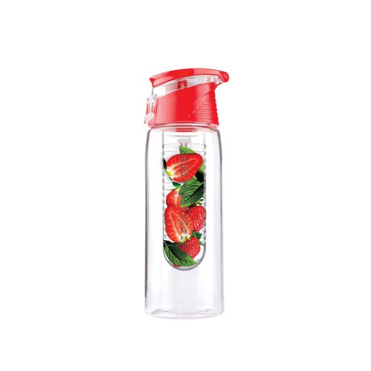 Asobu Flavour It 2 Go Water Bottle, Red