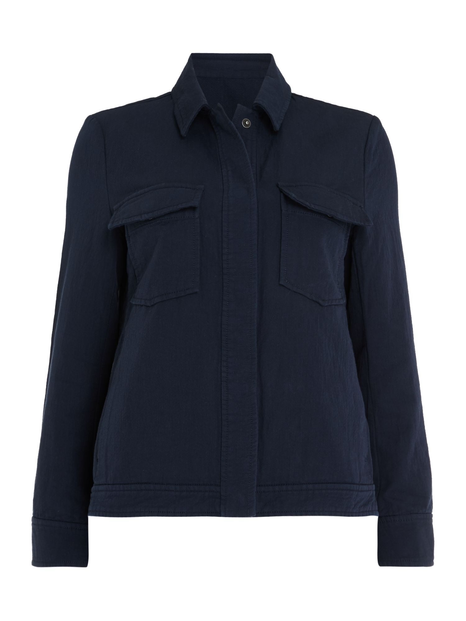 Samsoe and Samsoe kealey double pocket jacket, Blue