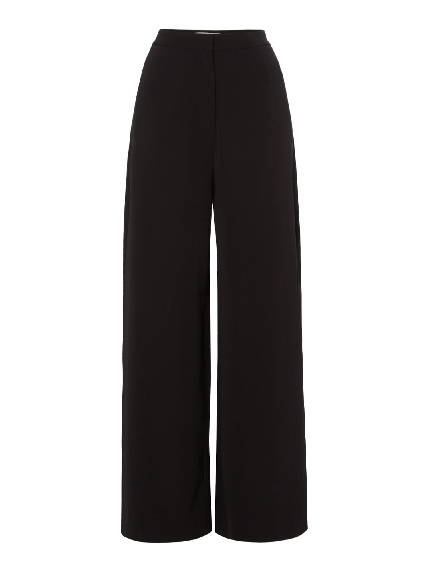Samsoe and Samsoe Bellis wide leg trousers, Black
