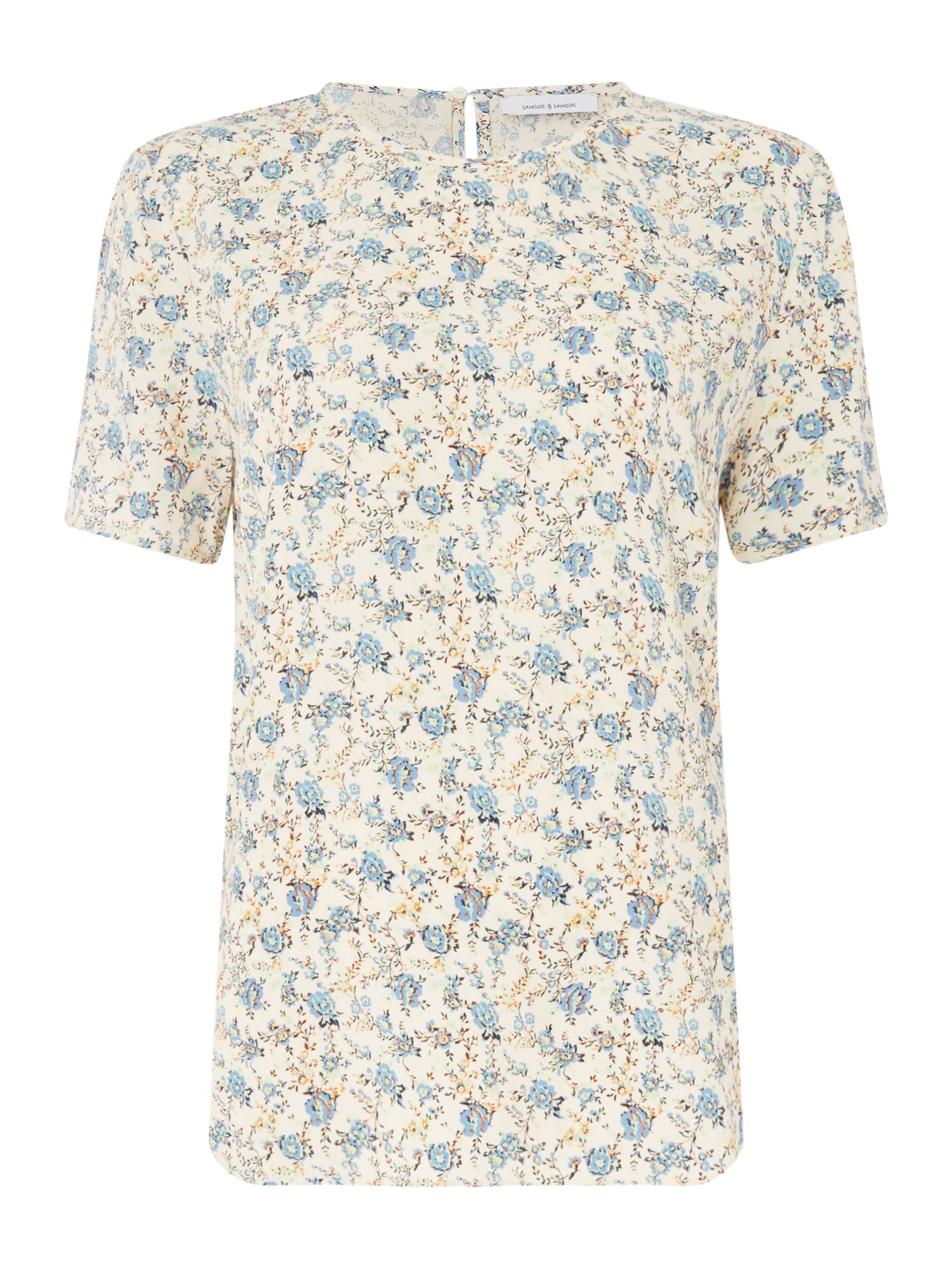 Samsoe and Samsoe Herbie Ditsy Floral Top, Multi-Coloured