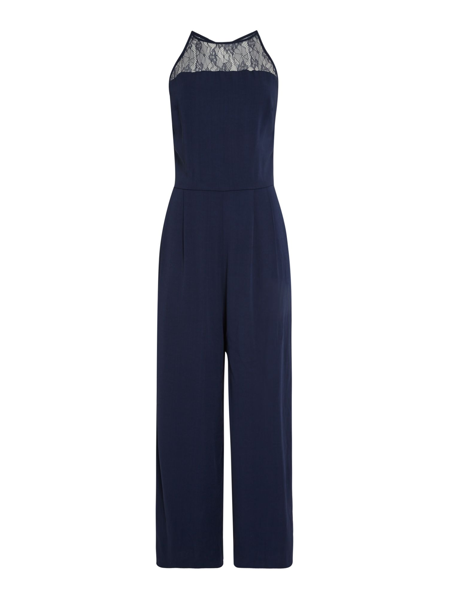 Samsoe and Samsoe Bina Lace Jumpsuit, Blue