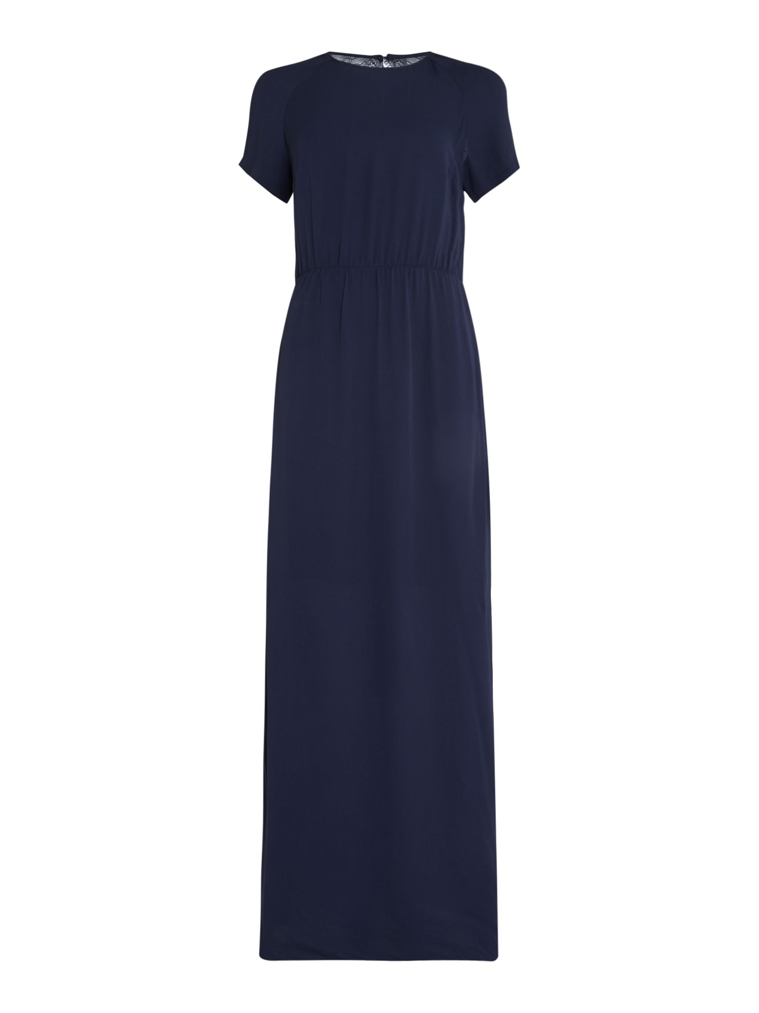 Samsoe and Samsoe Raya maxi dress, Blue