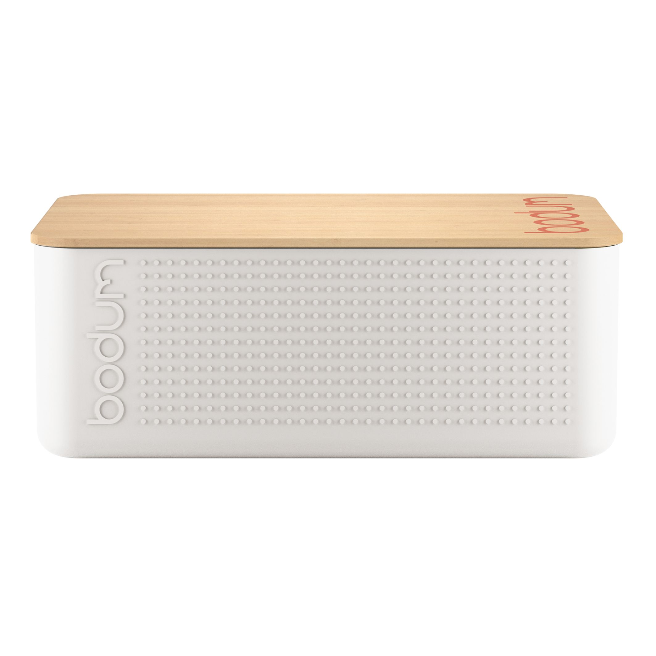 Image of Bodum Bistro Bread Box Large, White, White