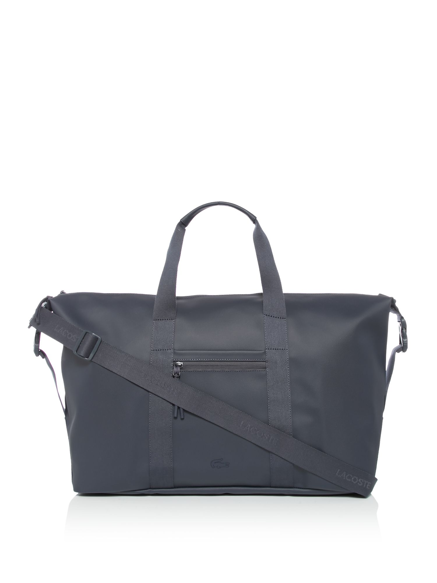 Lacoste Large Leather Holdall, Blue