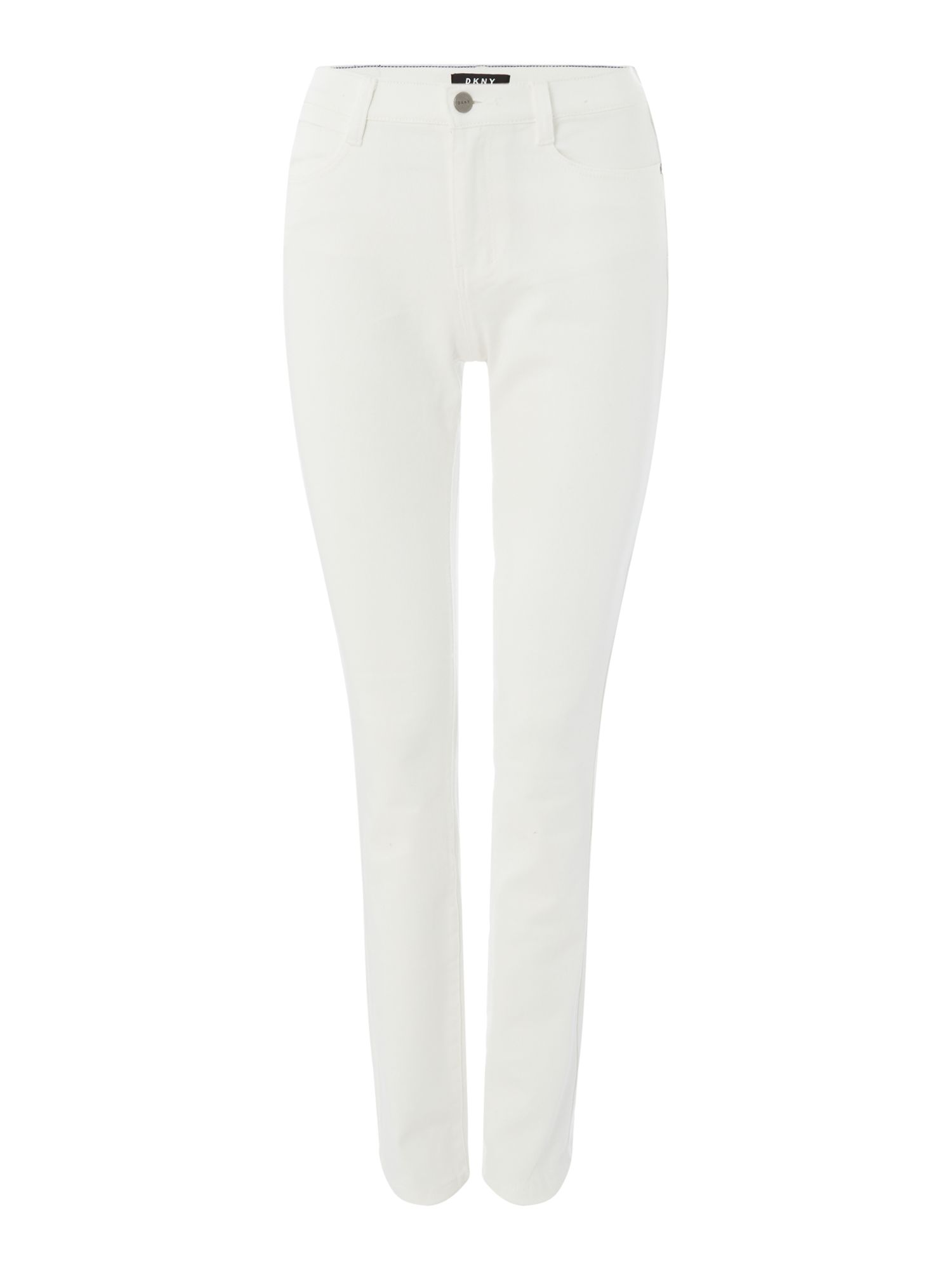 DKNY Straight leg jean, Off White