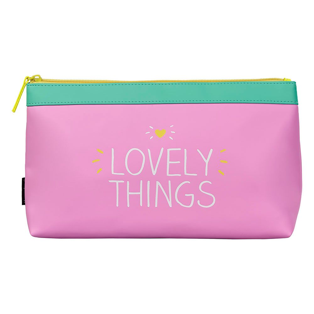 Happy Jackson Lovely Things Wash Bag, Pink