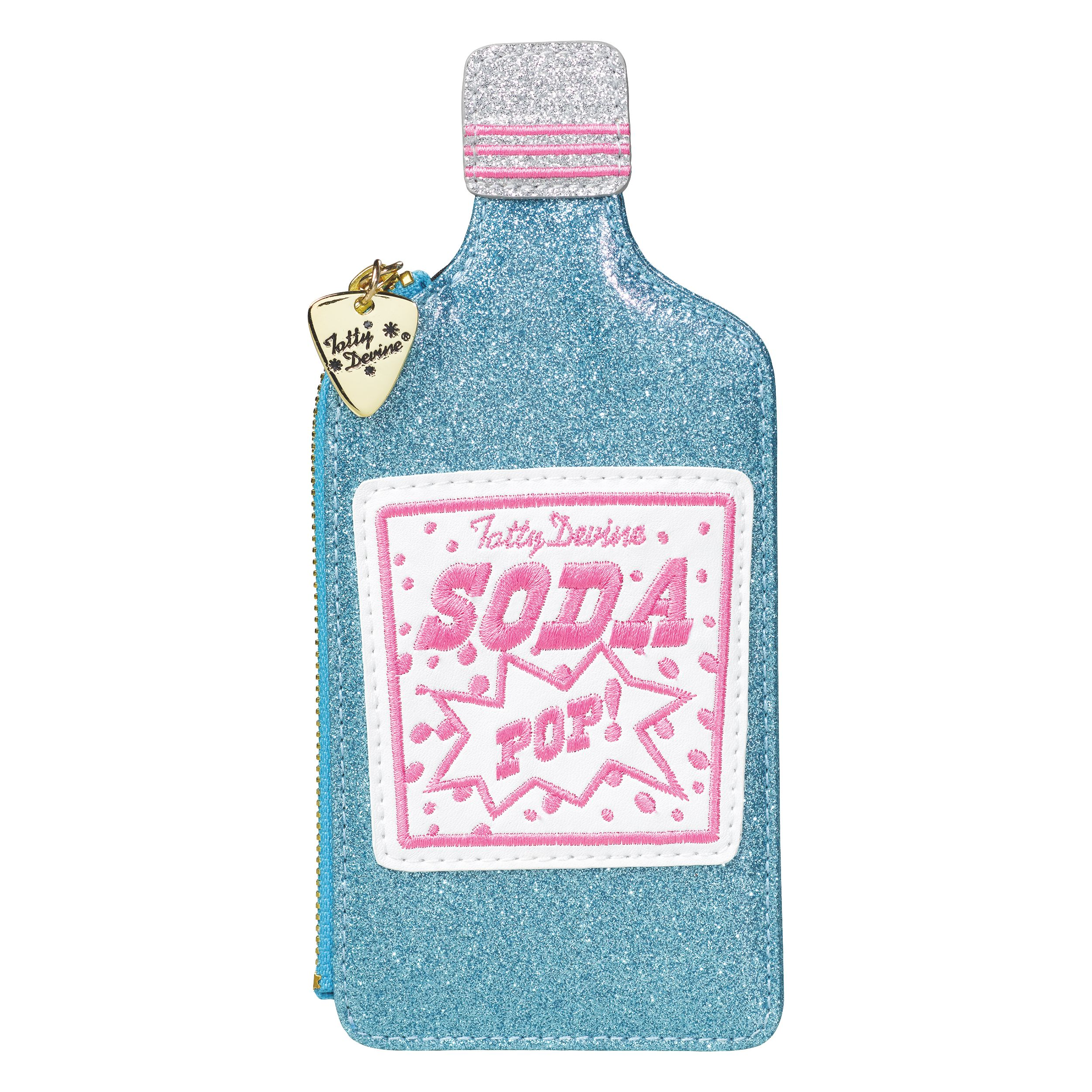 Tatty Devine Soda Pop Coin Purse, Blue