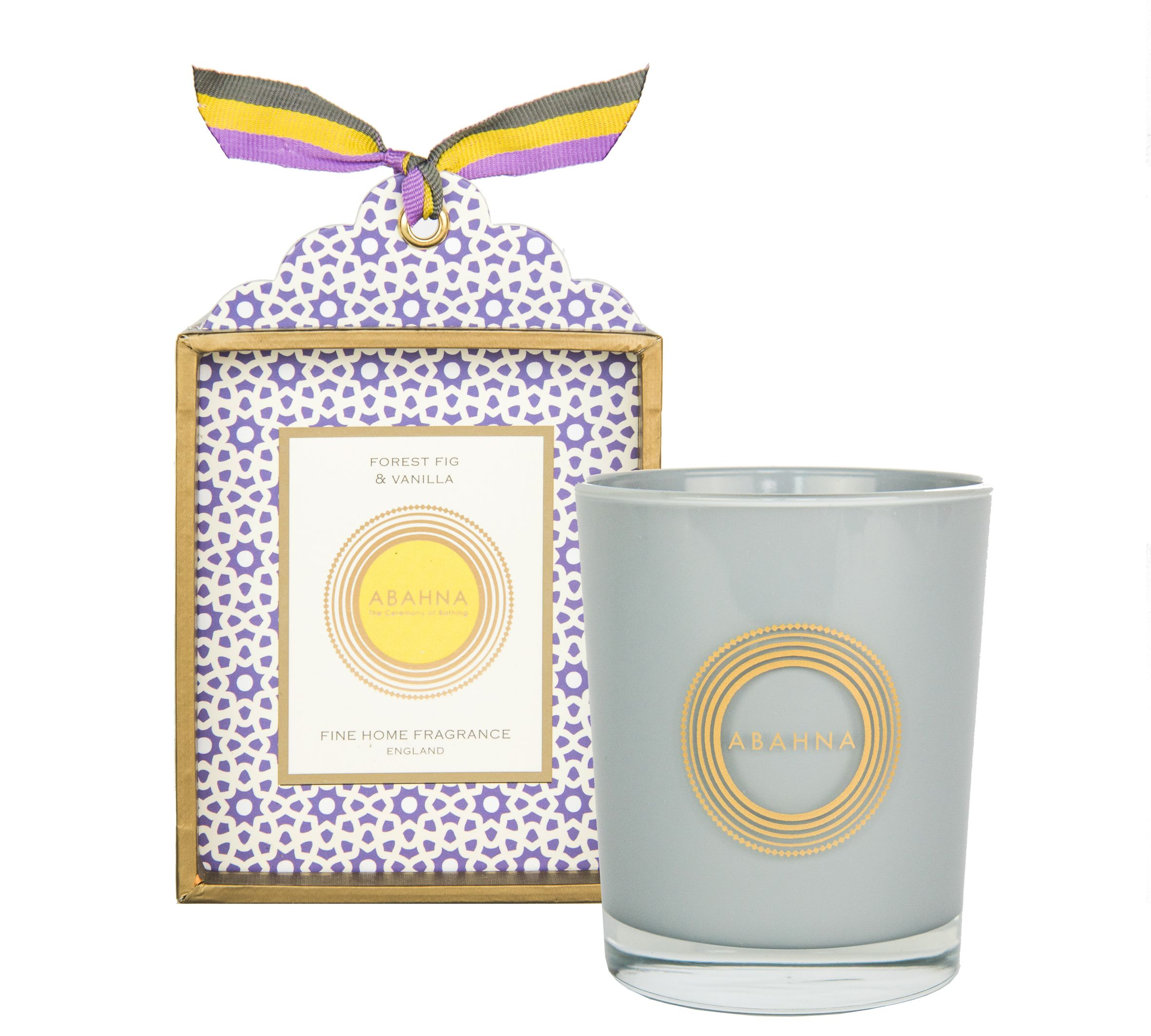 Image of Abahna Forest Fig & Vanilla candle 180g boxed