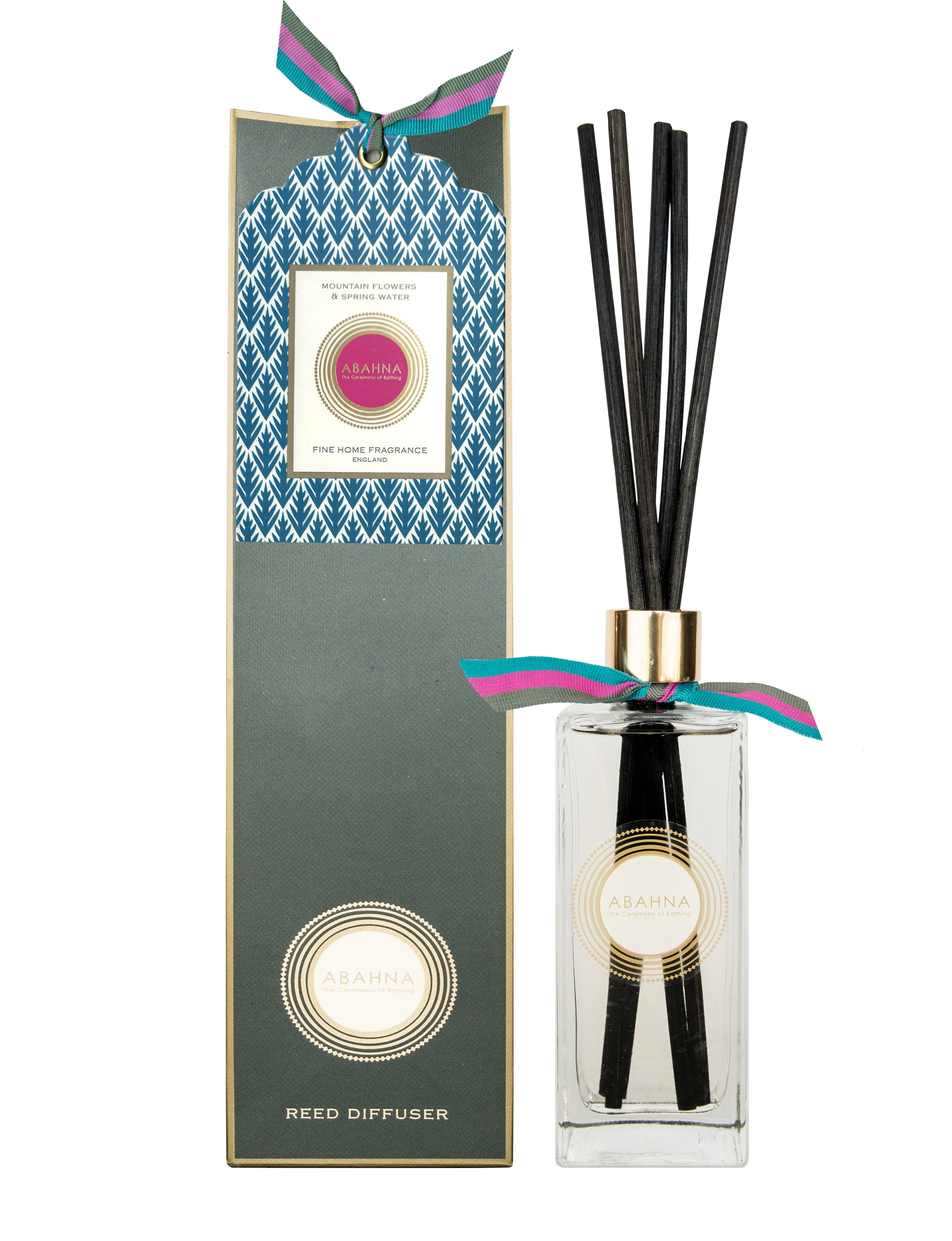 Image of Abahna Mountain Flowers & Spring Water Reed Diffuser Set