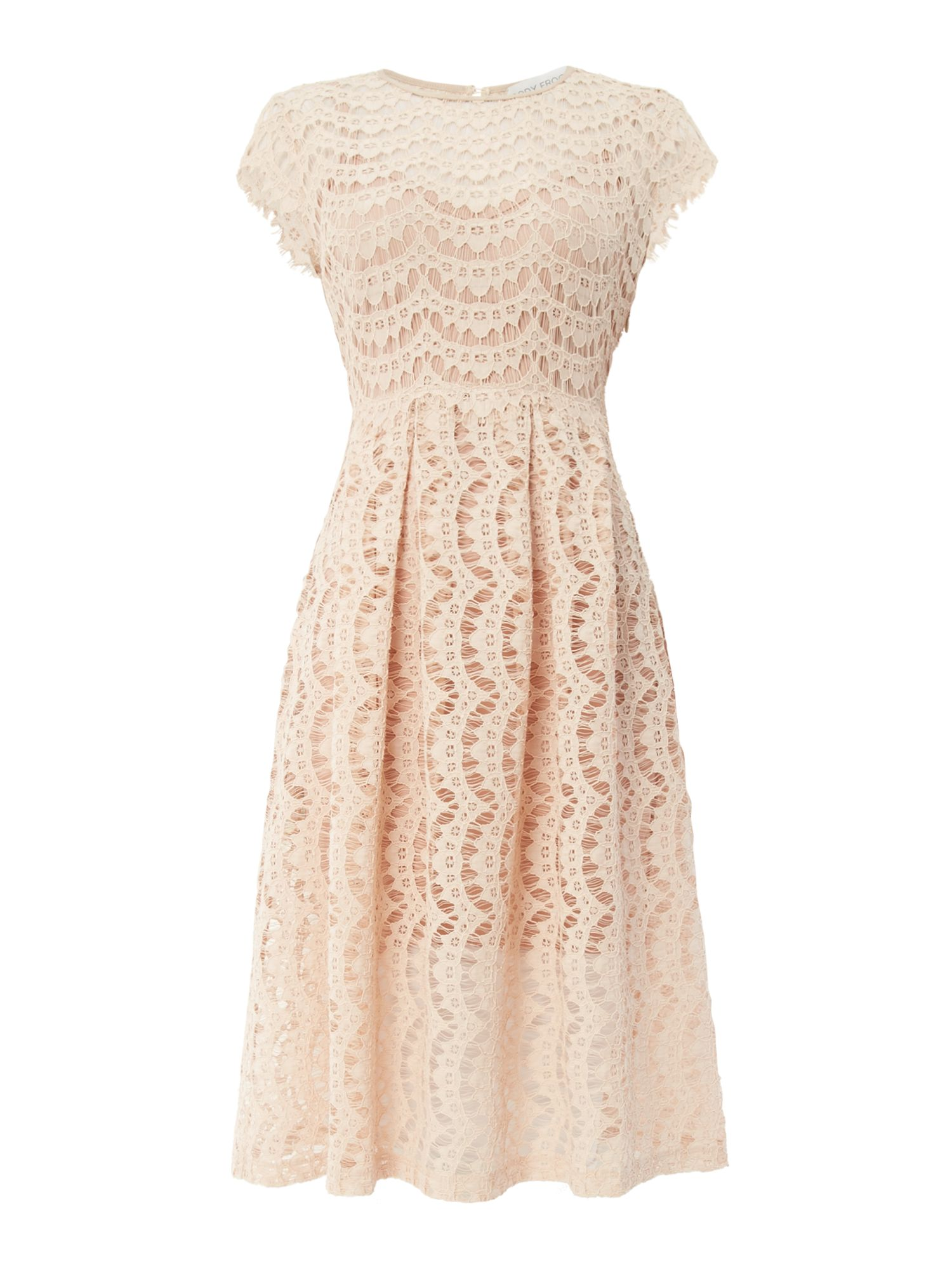 Body Frock Fit and flare dress, Pink