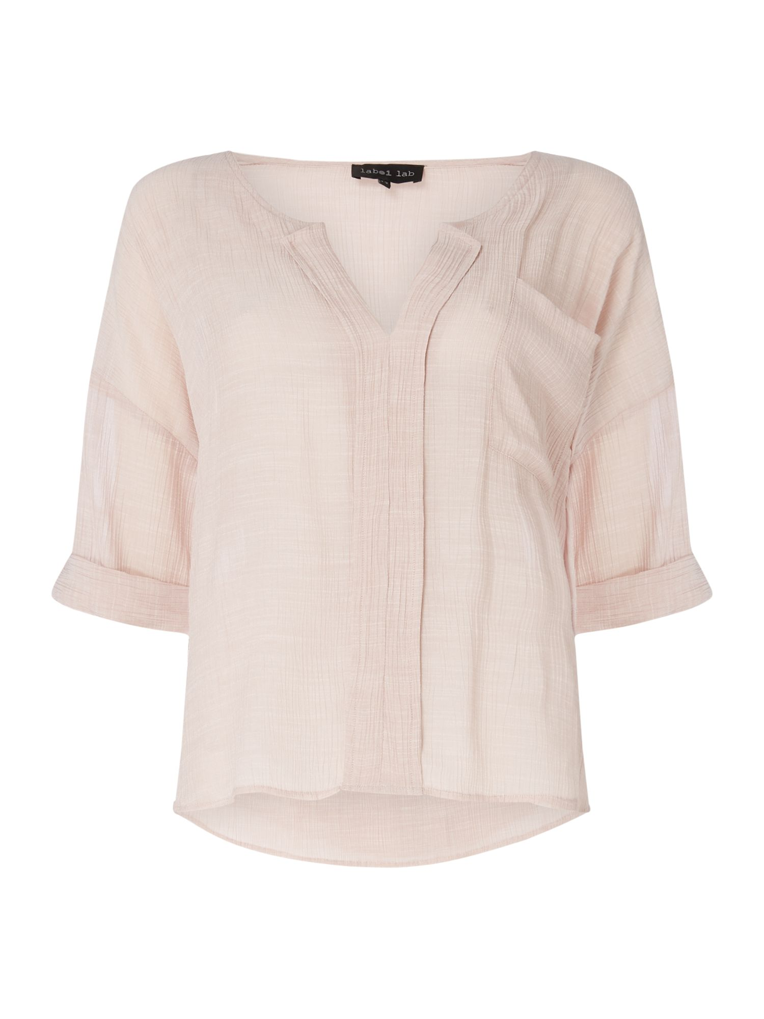 Label Lab Amy woven shirt, Pink