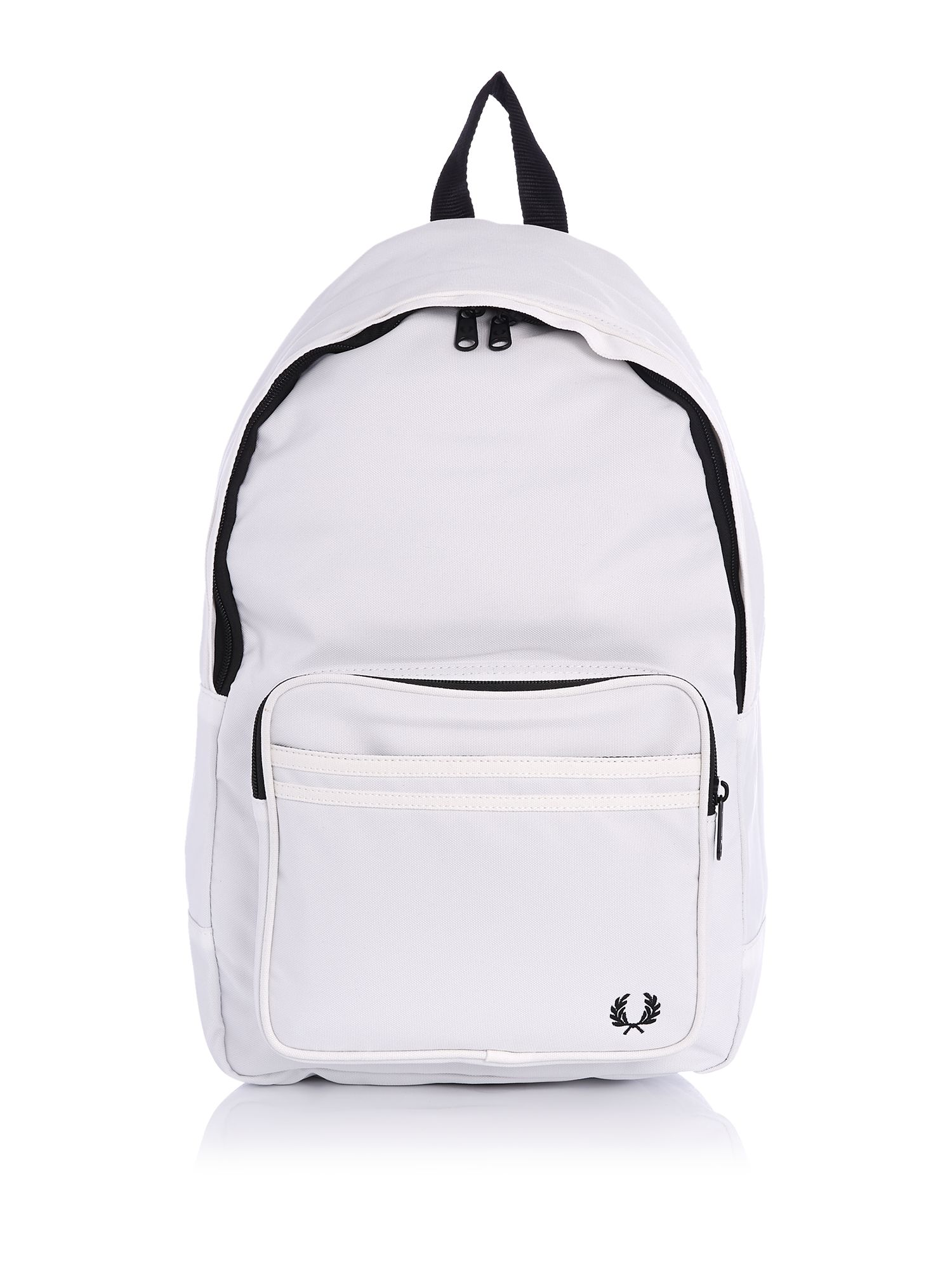 Fred Perry Tipped Backpack, White