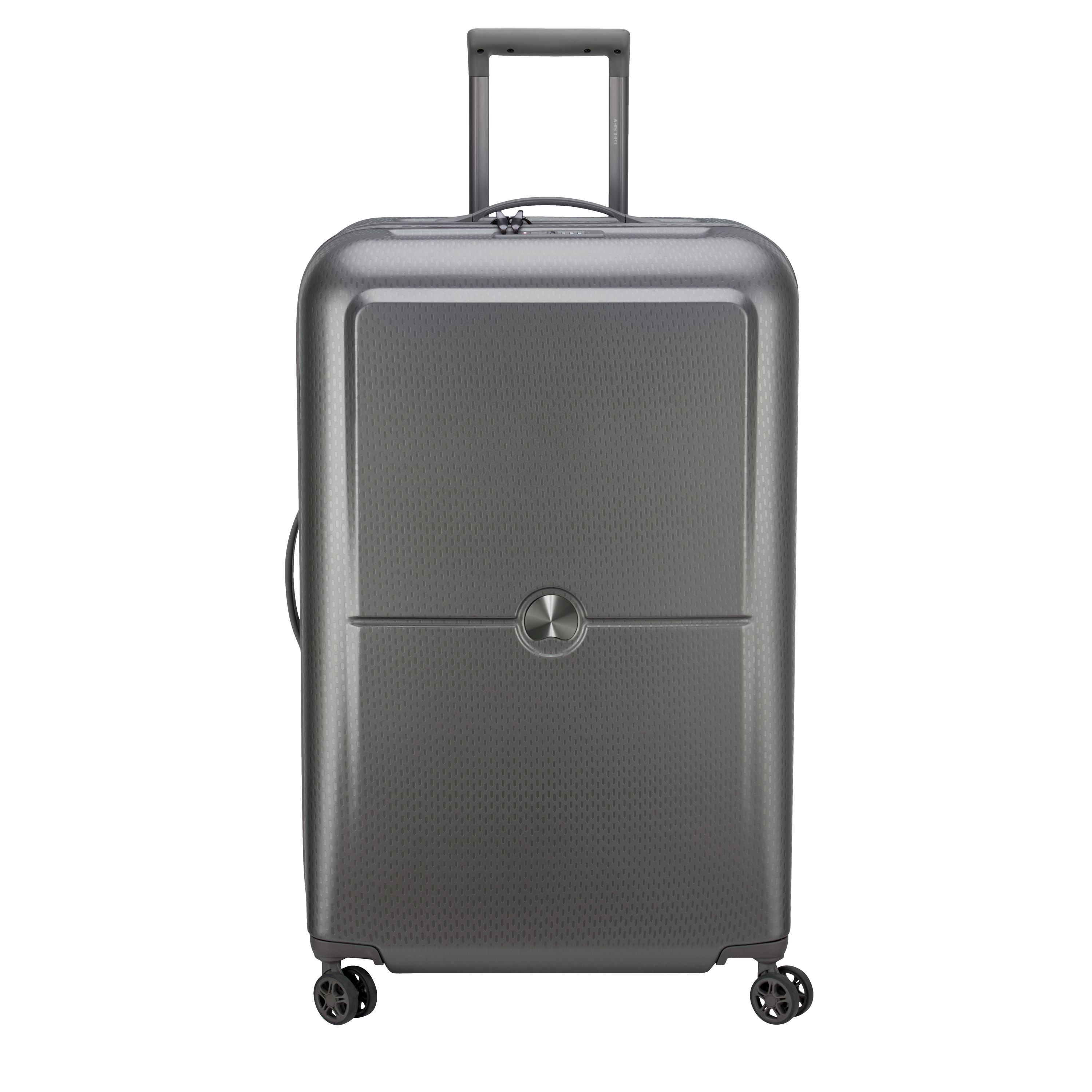 Delsey Turenne Silver 70cm 4 Double Wheels Large Case, Silver
