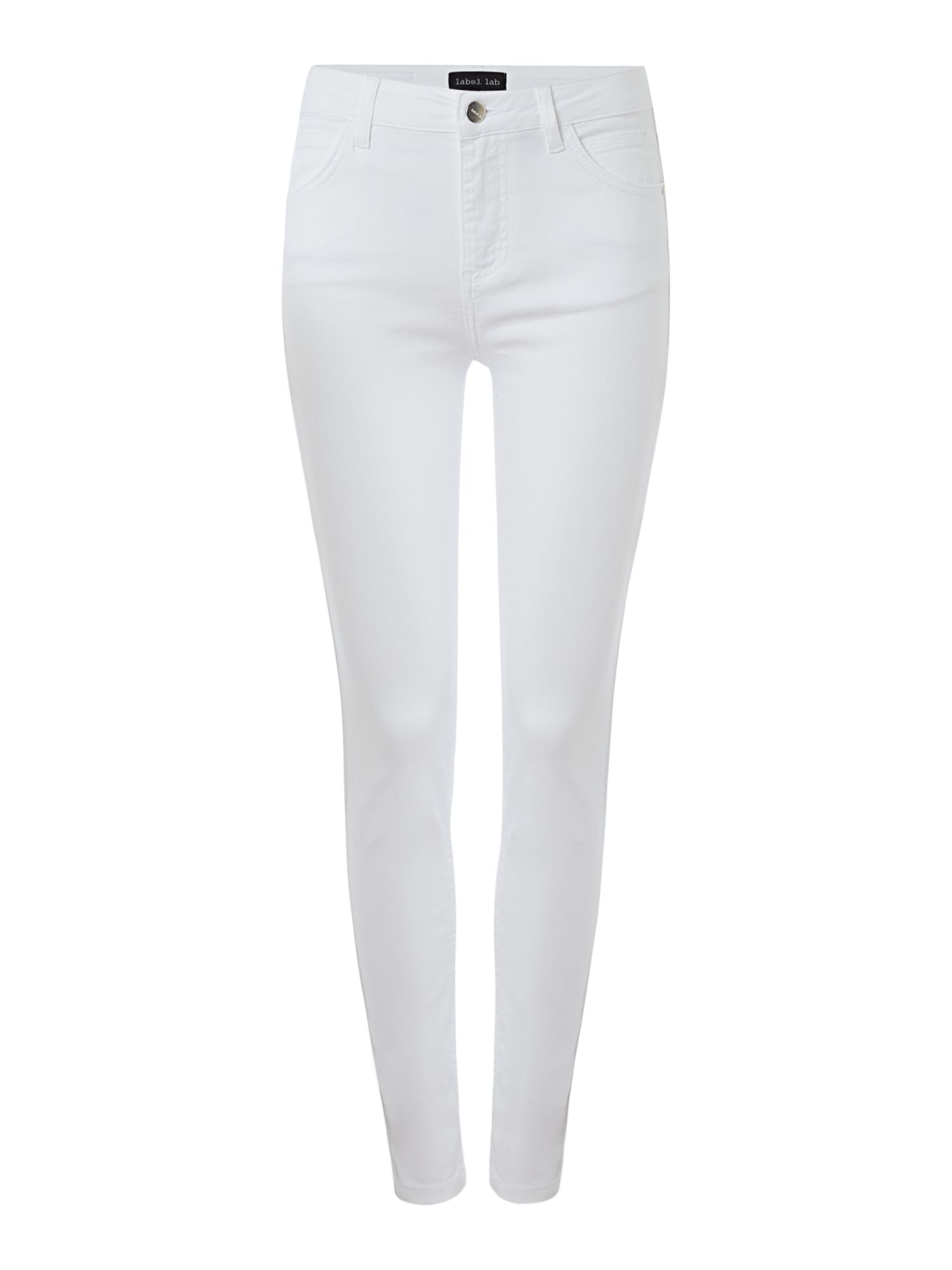 Label Lab Monument skinny jean, White