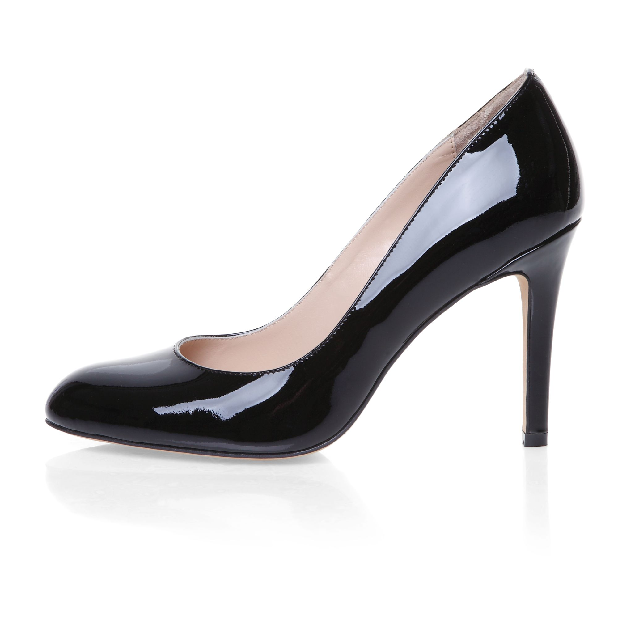 High heeled elegant court shoes