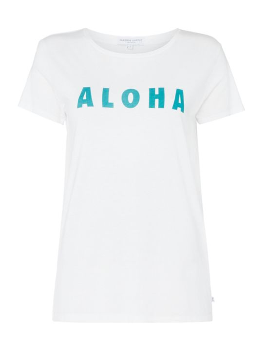 Fabienne Chapot, T-shirt with Aloha text, £40