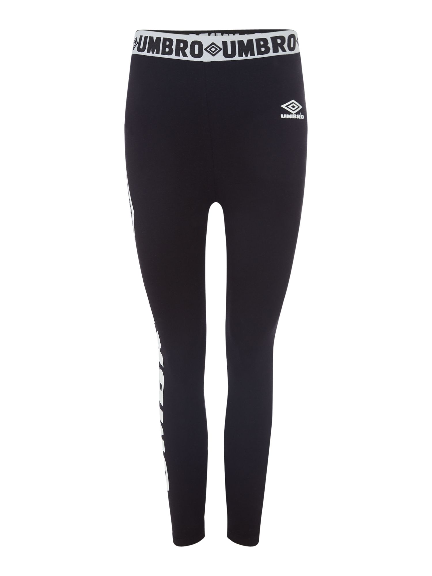 Umbro Large logo leggings, Black