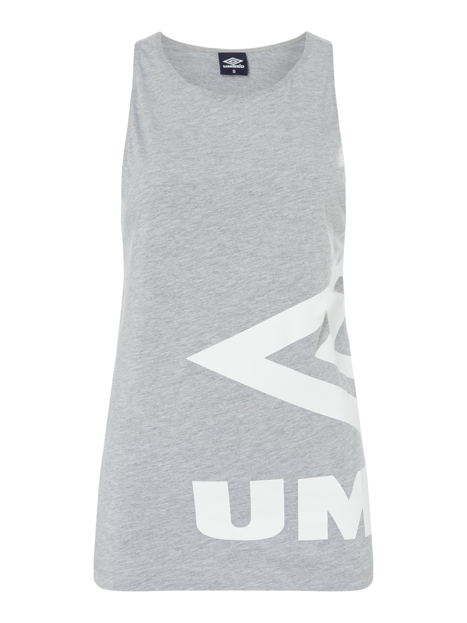 Umbro Side logo vest, Grey