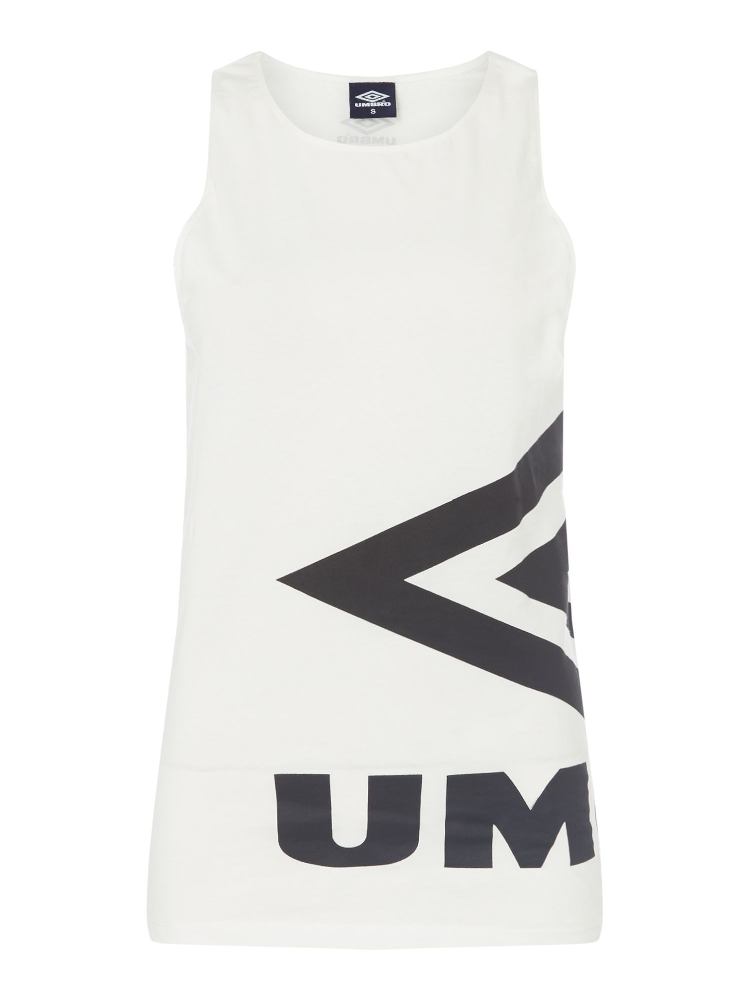 Umbro Side logo vest, White