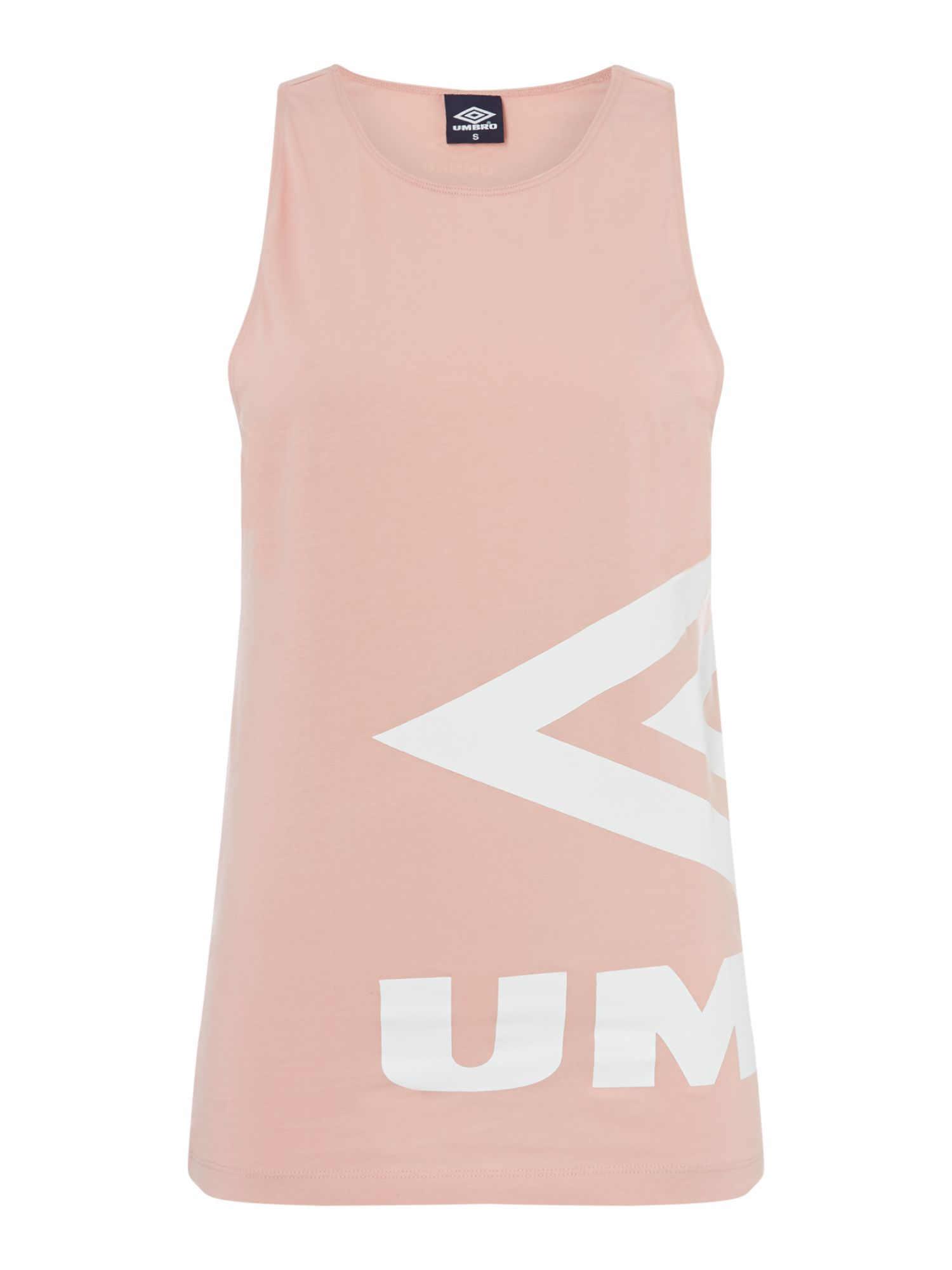 Umbro Side logo vest, Pink