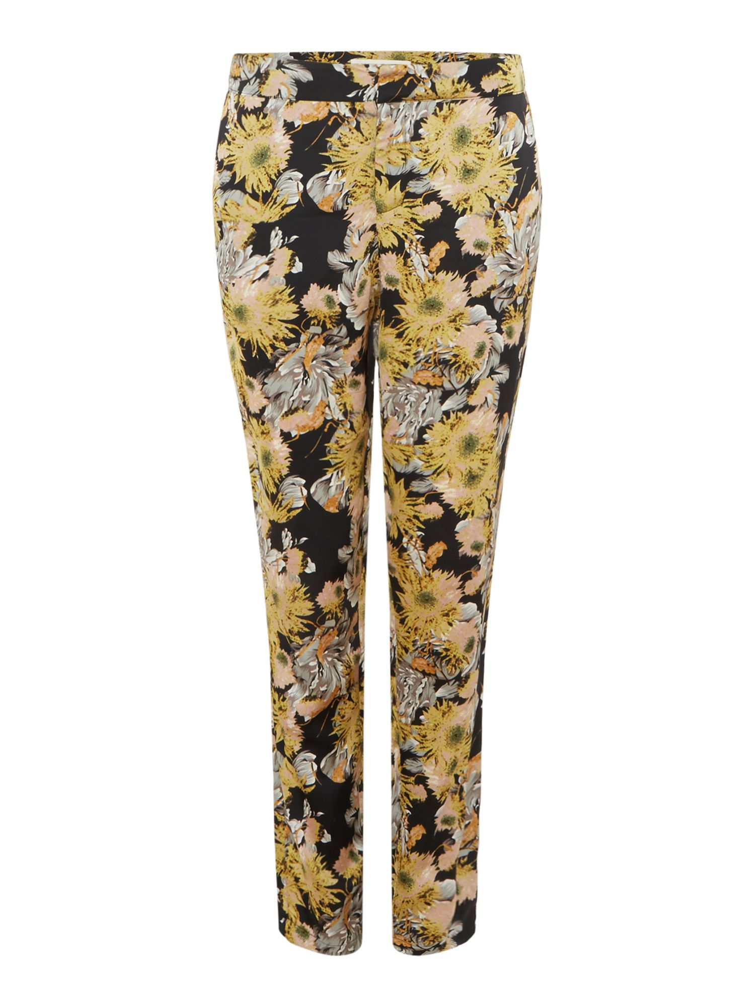 Sofie Schnoor Floral print trousers, Yellow