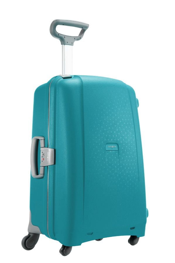 Samsonite Aeris Cielo Blue 75cm Large Spinner Suitcase, Blue