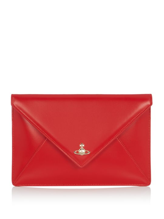 Vivienne Westwood Private Envelope Clutch