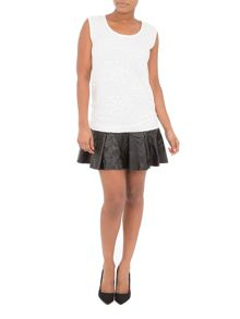 Relish Milsace Sleeveless Short Dress