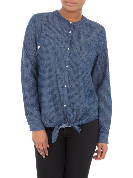 Relish Allison Denim Long Sleeves Shirt