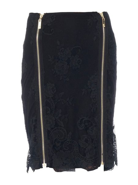 Relish Adler pencil skirt in lace