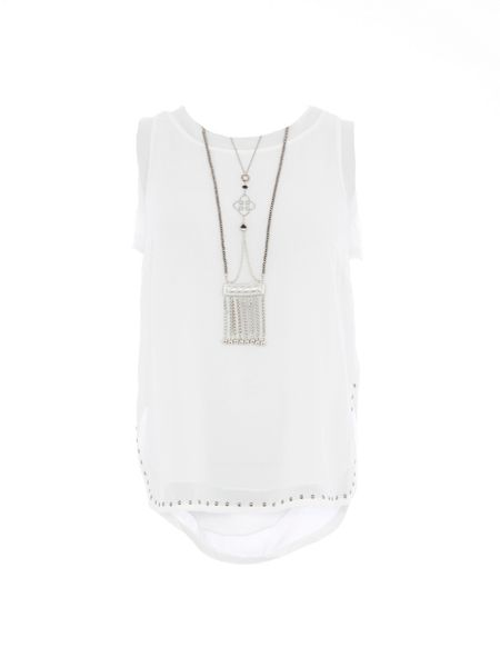 Relish Relish Studded Embellished Top