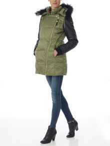 Relish Oxanta long padded jacket