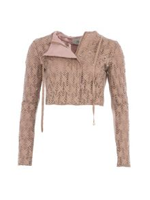 Relish Relish Textured Cropped Jacket