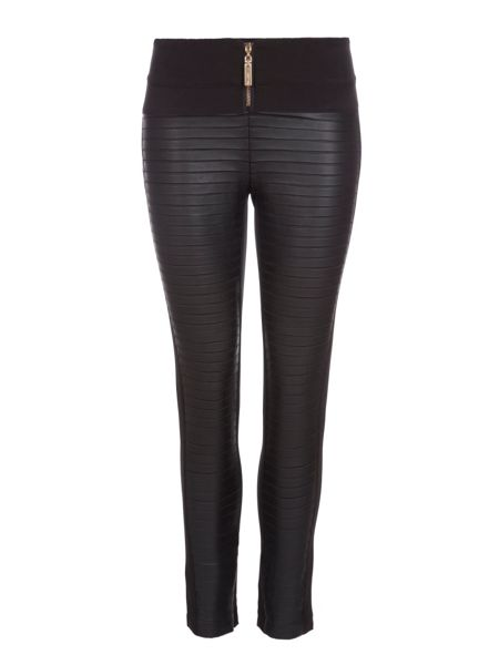 Relish Textured Skinny Trousers